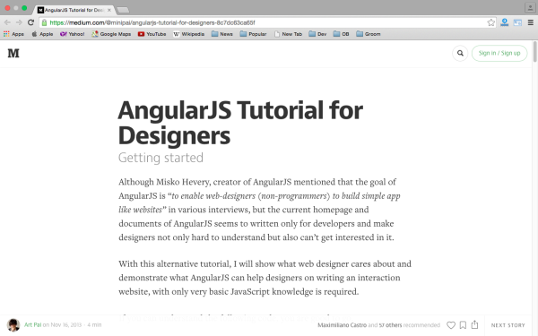 best resources and tutorials to learn AngularJS - angularjs-designers
