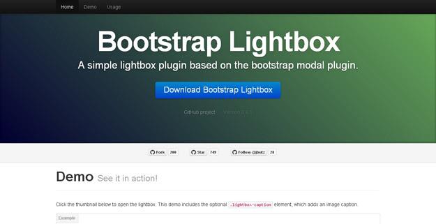 20 款最棒的 jQuery Bootstrap 插件