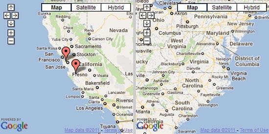 23 个最好的 jQuery Google Maps 插件