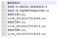 HTTP Live Streaming直播(iOS直播)技术分析与实现