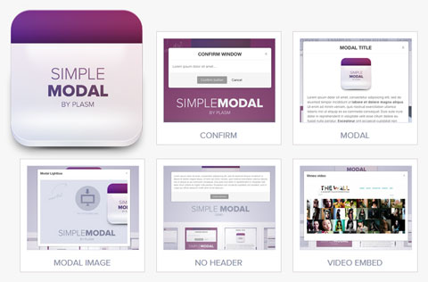 利用MooTools开发的模式对话框 – SimpleModal