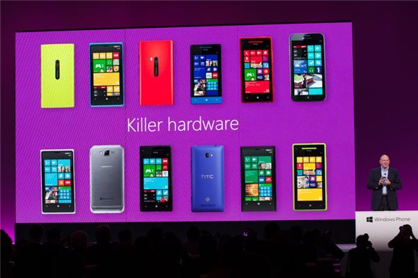 微软正式发布 Windows Phone 8