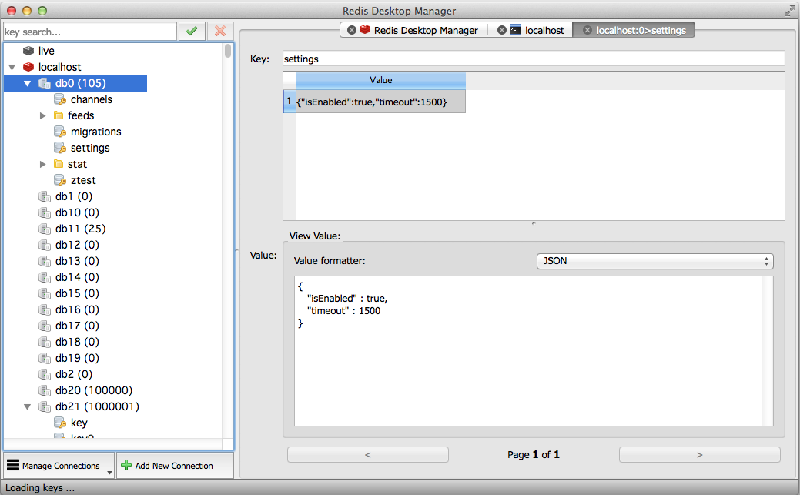 Redis Desktop Manager 0.6.2 发布,Redis的可视化管理工具