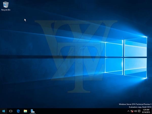 Windows Server 2016第三技术预览版泄露 [截图+下载]