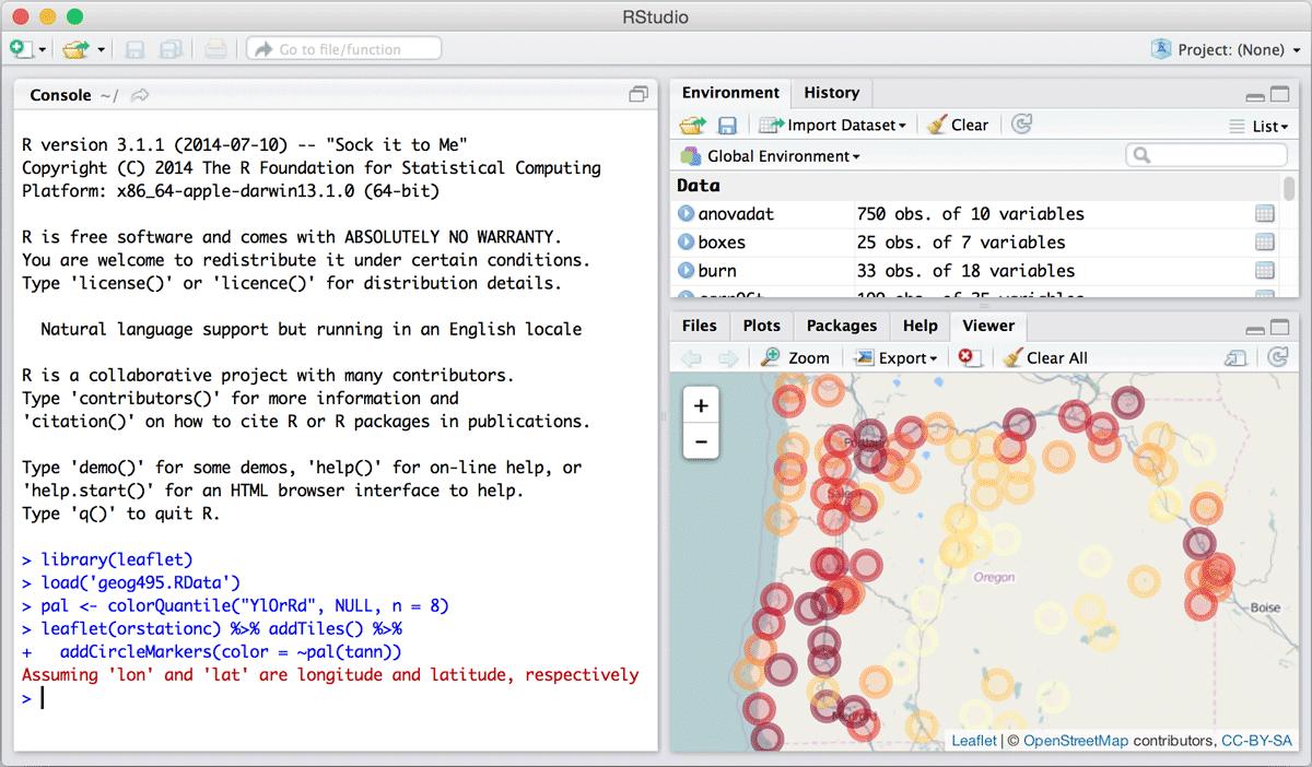 专为R语言打造的可视化JS库:HTMLWidgets