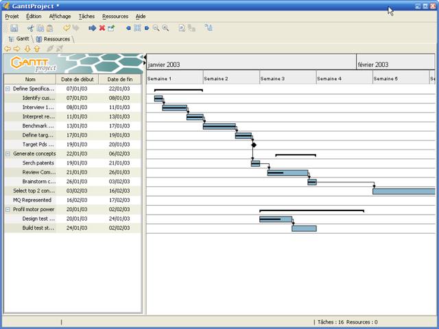 Ganttproject 2.6 发布,开源项目管理软件
