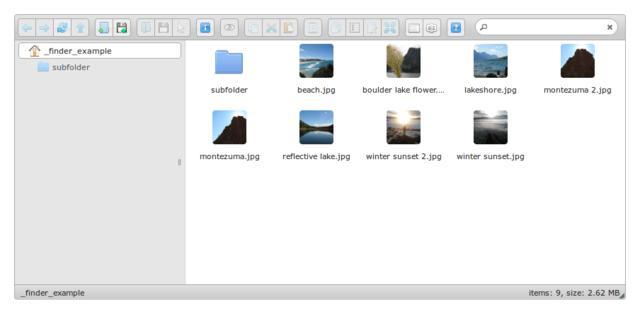 文件管理器,gpFinder 2.0 RC1 发布