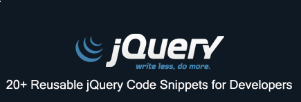Reusable jQuery Code Snippets for Developers