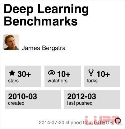 18个最热深度学习Github项目逐一介绍