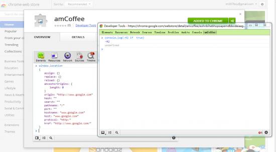 支持用 CoffeeScript 调试的 Chrome 扩展
