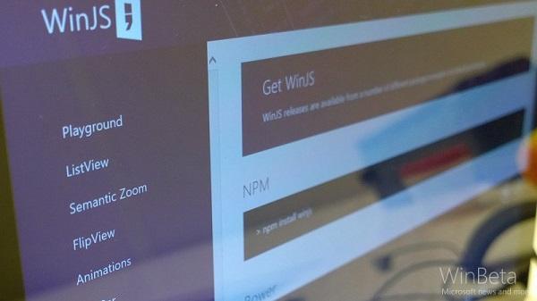 微软已将WinJS开源项目更新至3.0版本