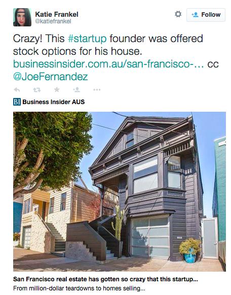 """十张图告诉你,""""创业之城""""旧金山现在究竟有多疯狂"""