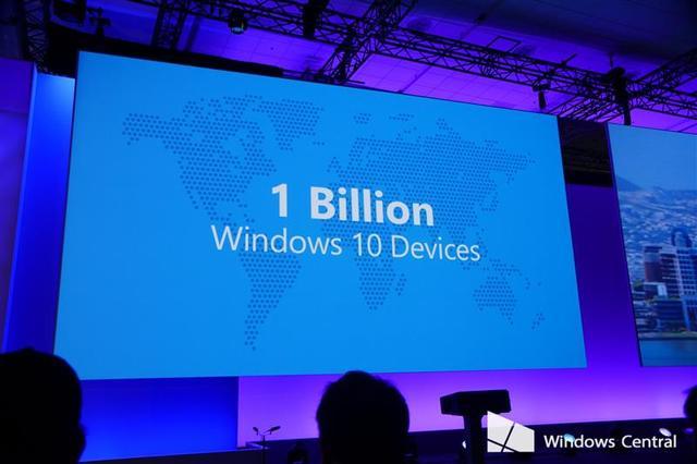 微软放言Windows 10三年覆盖十亿设备