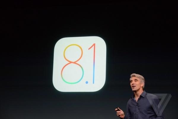 iOS 8.1 正式发布:周一更新,支持Apple Pay