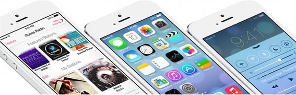 苹果赤裸裸抄袭微软!iOS 7新设计也叫Modern UI