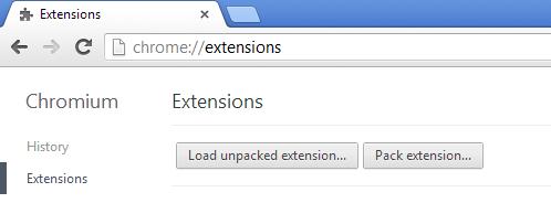 Chrome 简化 chrome:// 地址