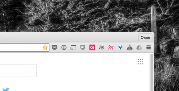 Chrome 49 新改变:扩展图标从地址栏移出