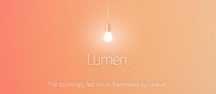Laravel 新成员:Lumen 强大的微型框架