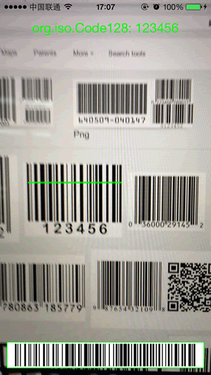 iOS条形码扫描器:RSBarcodes