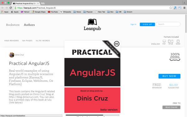 best resources and tutorials to learn AngularJS - practicaljs