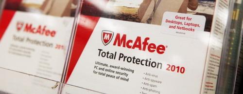 英特尔宣布McAfee更名为Intel Security