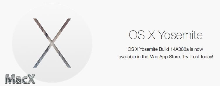 苹果发布 OS X 10.10 第三个 GM 测试版