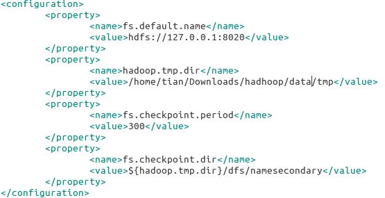ubuntu14.04 安装hadoop