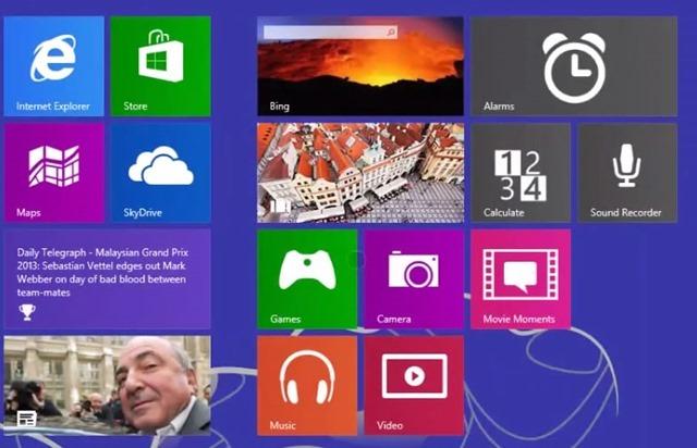 Windows 8.1 新增官方应用采用新图标