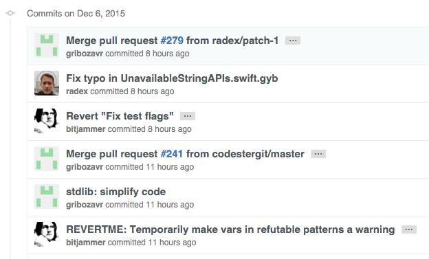 Swift 开源那点事