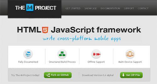MProject : HTML5 Javascript框架