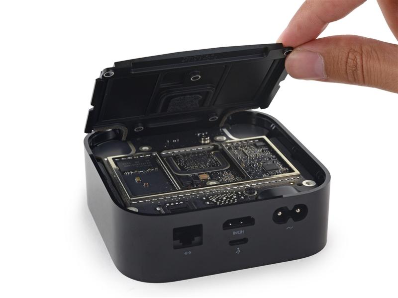 第四代Apple TV完全拆解:做工绝了!