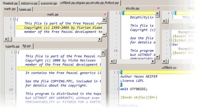 多平台的文本编辑器:Notepas