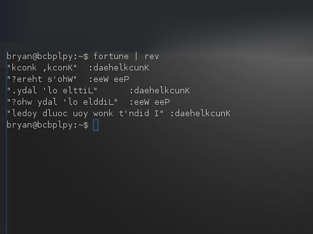 11个无用而有趣的Linux终端彩蛋