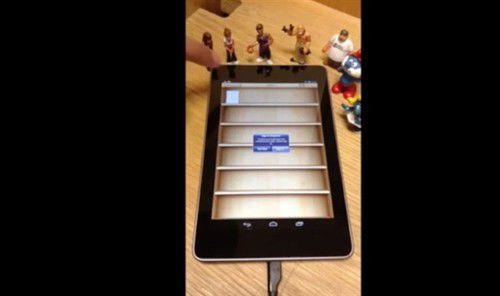 美大学生让安卓平板Nexus 7成功运行iOS系统