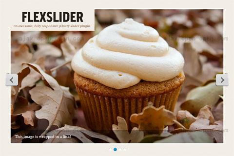 内容滚动jQuery插件 - FlexSlider