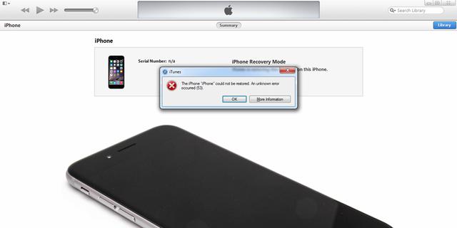 苹果承认Error 53错误让iPhone变砖
