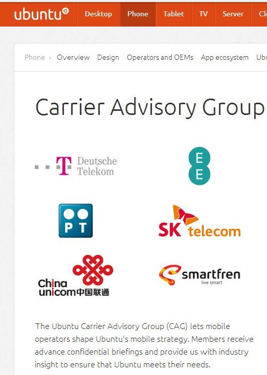 中国联通将成为Ubuntu Phone 的中国运营商