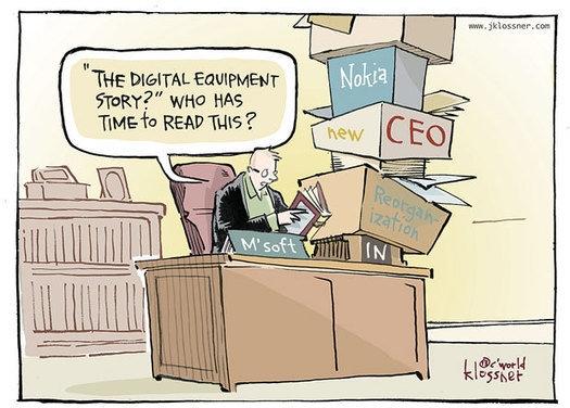 漫画解说2013年IT行业大事件