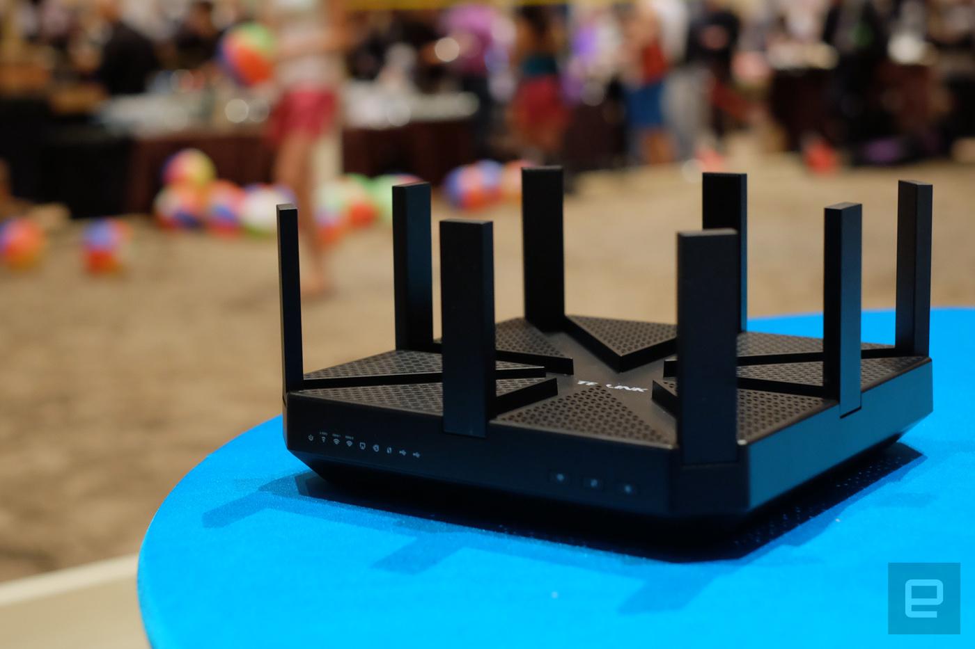 世上首款支持 802.11ad 的路由器是来自 TP-Link