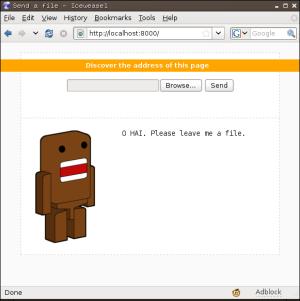 Droopy: 专用文件上传的Web服务器