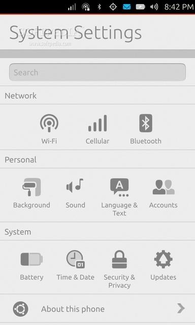 手机版Ubuntu Touch 13.10截图赏