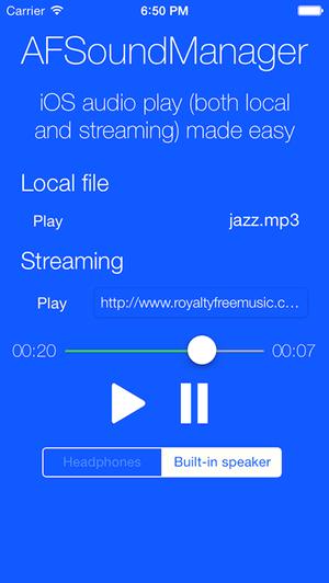 iOS 音频播放:AFSoundManager