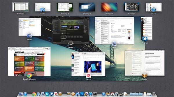 看看老外电脑桌面都啥样