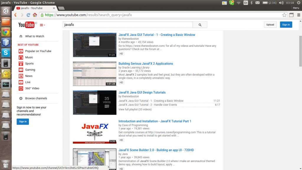 8个学习JavaFX的最好资源