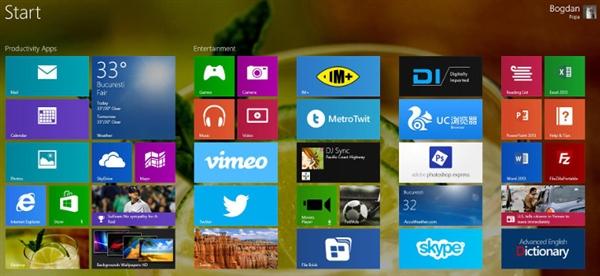 外媒爆料:Windows 8.1 RTM两周内发布