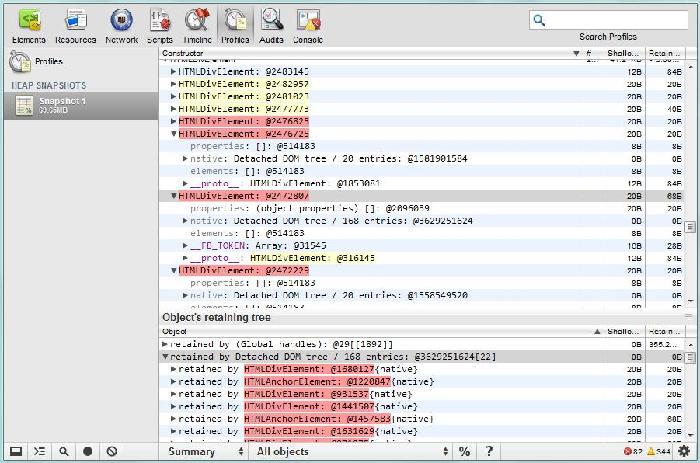 Javascript内存泄露
