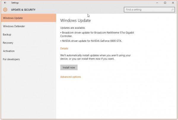 微软不再为消费者提供Windows 10更新信息