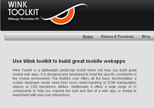Wink Toolkit