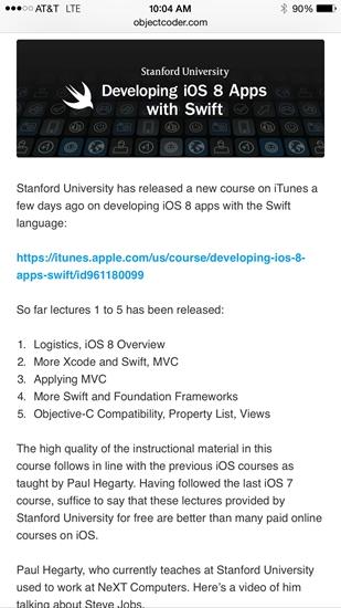 面世已一年:快速发展的Swift是否将淘汰Objective-C?