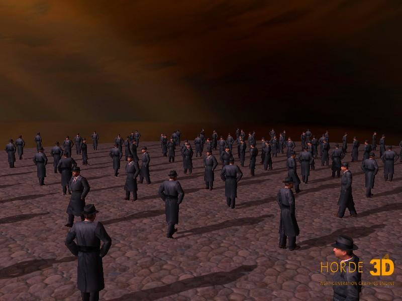 C++开发的3D渲染引擎:Horde3D